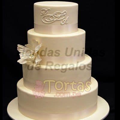 Torta Matrimonio 17 - Cod:WMA17