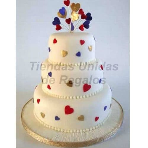 Torta Matrimonio 19- Whatsapp: 980-660044