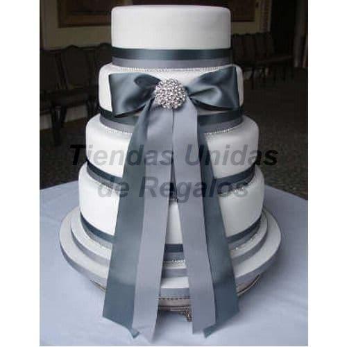 Torta Matrimonio 24 - Cod:WMA24
