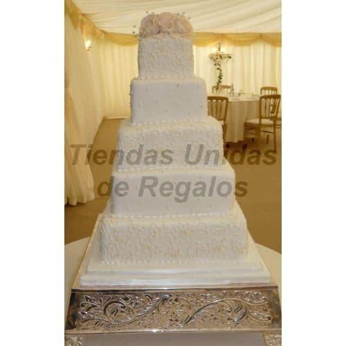 Torta Matrimonio 28 - Cod:WMA28