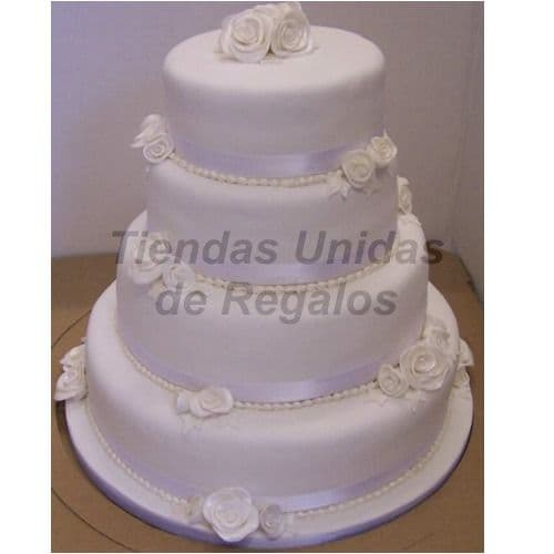 Torta Matrimonio 35 - Whatsapp: 980-660044