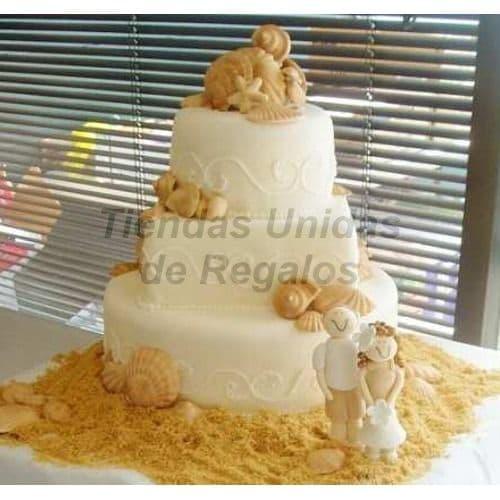 Torta Matrimonio 41 - Cod:WMA41