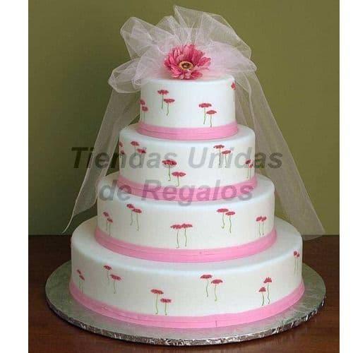 Torta de Matrimonio | Torta Matrimonio 42 - Whatsapp: 980-660044