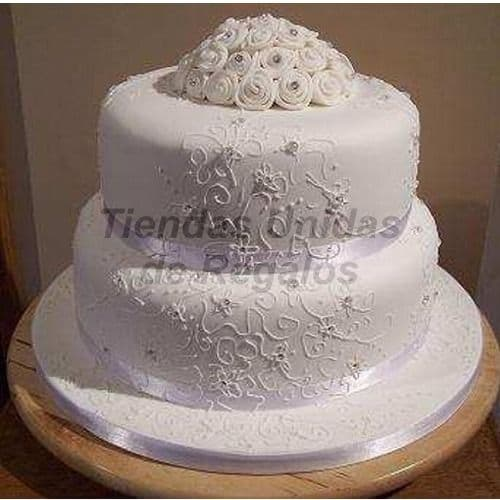 Torta Matrimonio 43 - Cod:WMA43