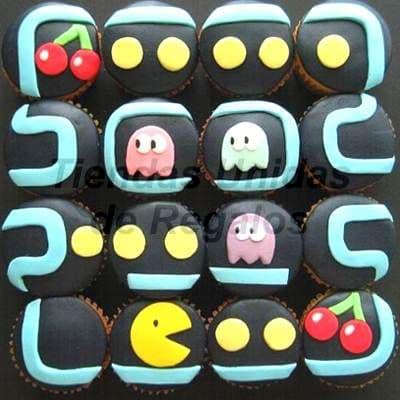 Cupcakes Pacman - Cod:WMF01