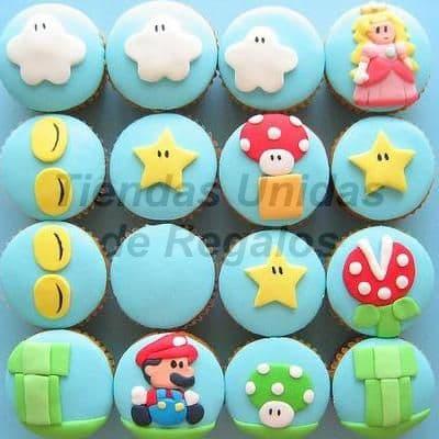 Cupcakes Mario Bros - Cod:WMF02