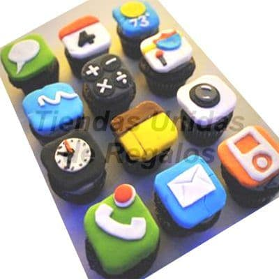 Cupcakes Iphone - Cod:WMF03