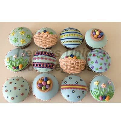 Cupcakes para Pascuas | Cupcakes Personalizados - Cod:WMF04