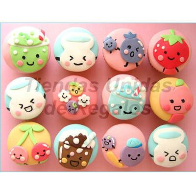 Cupcakes para Niños | Cupcakes Personalizados - Cod:WMF06