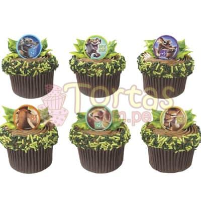 Cupckes Era del Hielo | Cupcakes Personalizados - Cod:WMF08