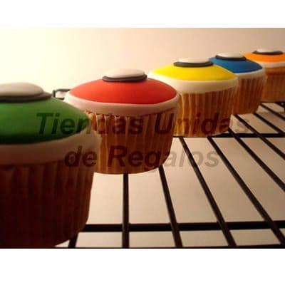 Cupcakes de Colores | Cupcakes Personalizados Para Regalos - Cod:WMF13