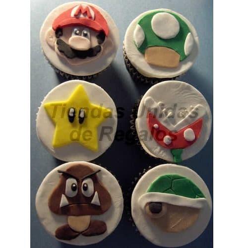 Cupcakes Mario Bros | Cupcakes Personalizados Para Regalos - Cod:WMF36
