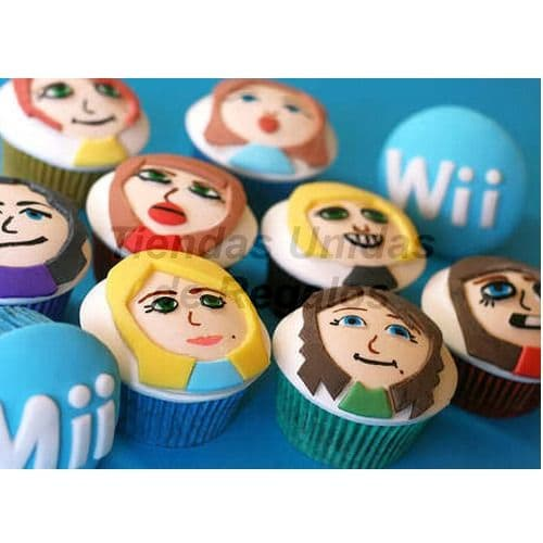 Cupcakes Nintendo Wii - Cod:WMF40