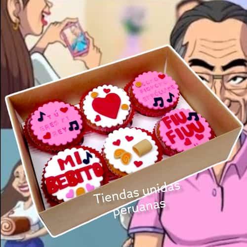 Cupcakes Ositos Veraniegos | Cupcakes Personalizados Para Regalos - Cod:WMF42