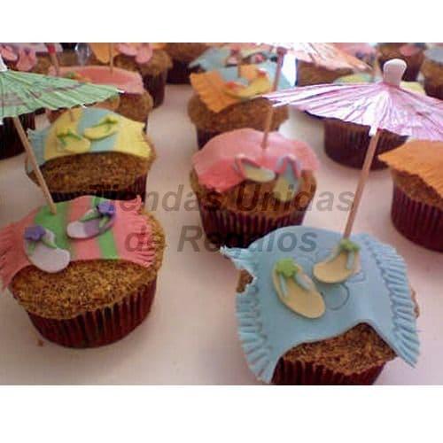 Cupcakes Verano | Cupcakes a Domicilio - Cod:WMF43