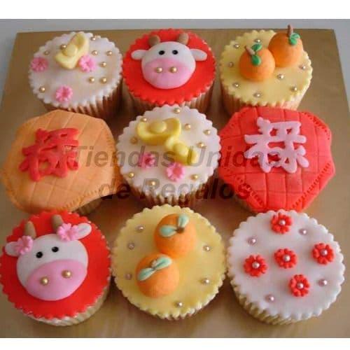 Cupcakes Granja | Cupcakes Personalizados Para Regalos - Cod:WMF45