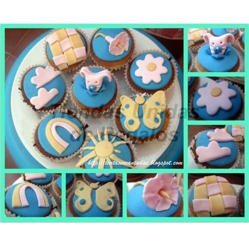 Cupcakes Recien Nacidos | Cupcakes Personalizados Para Regalos - Cod:WMF46
