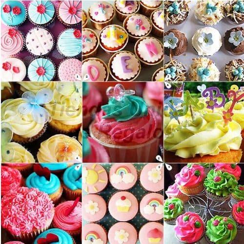 Cupcakes por Ciento | Cupcakes Personalizados Para Regalos - Cod:WMF48