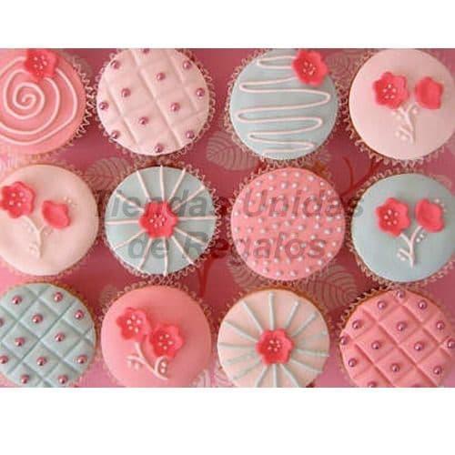 Cupcakes Artisticos | Cupcakes Personalizados Para Regalos - Cod:WMF52