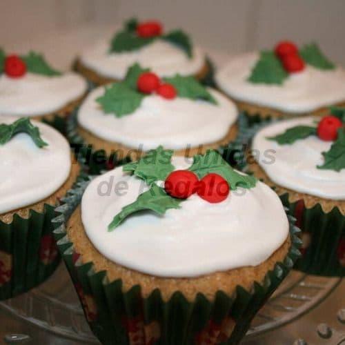 Cupcakes Navidad | Cupcakes Personalizados Para Regalos - Cod:WMF53