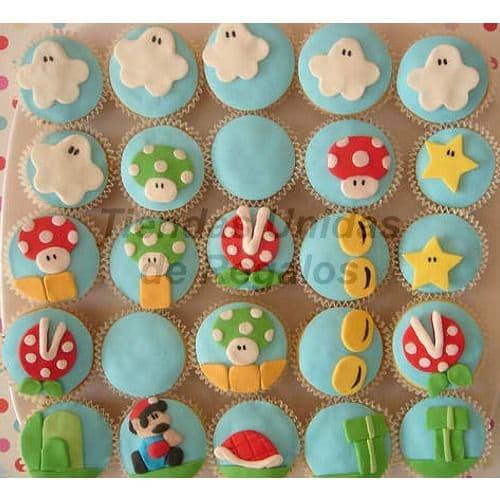 Cupcakes Mario Bros - Cod:WMF56