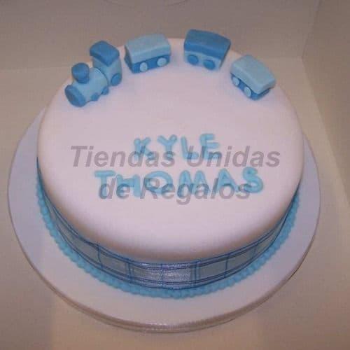 i-quiero.com - Torta Bebe 07 - Codigo:WNA07 - Detalles: Torta a base de keke De Vainilla con medida de 25 cm. de di�metro. incluye botitas en az�car. Todo el decorado esta hecho a base de masa el�stica. Si incluye Nombre en azucar de hasta 7 letras. - - Para mayores informes llamenos al Telf: 225-5120 o 476-0753.