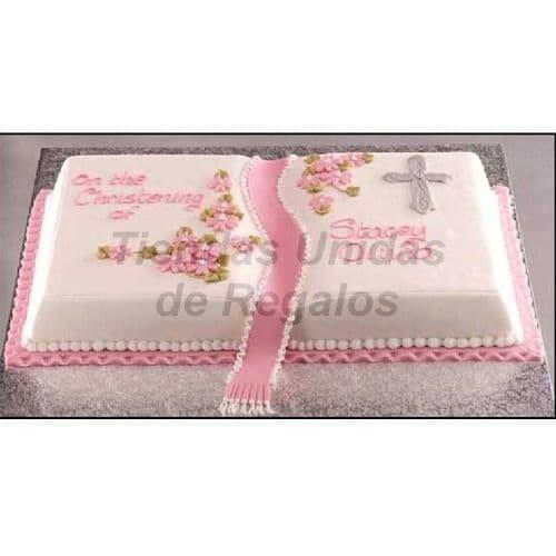 i-quiero.com - Torta Libro bautizo 12 - Codigo:WNA12 - Detalles: Torta a base de keke De Vainilla  medida de 20 x 40cm. Todo el decorado esta hecho a base de masa el�stica. Incluye cubos de azucar. - - Para mayores informes llamenos al Telf: 225-5120 o 476-0753.