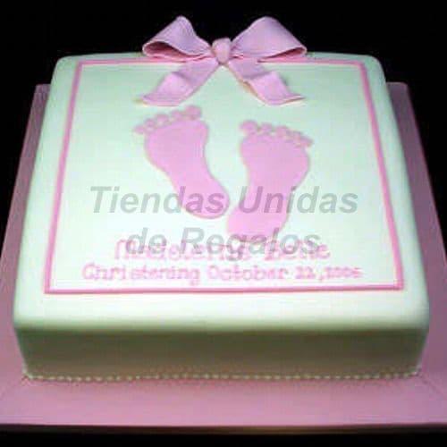 Diloconrosas.com - Torta Bebe 17 - Codigo:WNA17 - Detalles: Torta a base de keke De Vainilla con medida de 25 x 25 cm.,Todo el decorado esta hecho a base de masa el�stica. - - Para mayores informes llamenos al Telf: 225-5120 o 476-0753.
