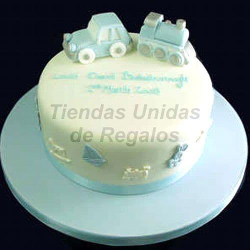 Diloconrosas.com - Torta Bebe 21 - Codigo:WNA21 - Detalles: Torta a base de keke De Vainilla con medida de 20 cm. de di�metro. Todo el decorado esta hecho a base de masa el�stica.  - - Para mayores informes llamenos al Telf: 225-5120 o 476-0753.