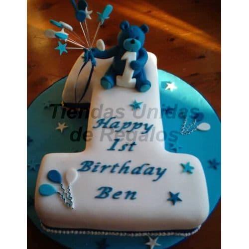 Torta con Numero | Tortas Numericas 01 - Whatsapp: 980-660044