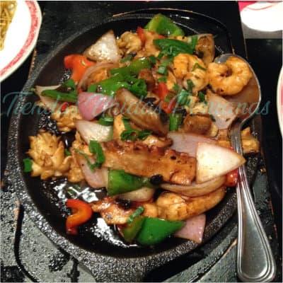 Calamar con Tausi a la plancha | Delivery Chifa Callao | Delivery de Chifa - Whatsapp: 225-5120