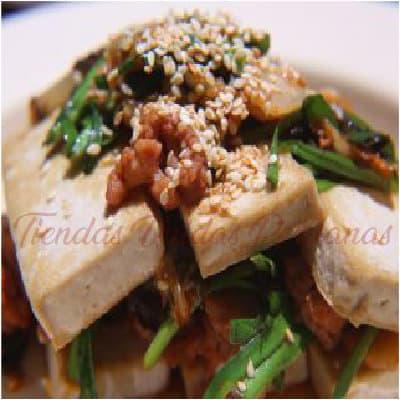 Langostino con Taufu a la Cacerola | Delivery Chifa Callao | Delivery de Chifa - Cod:WPC07