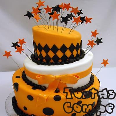 Torta para Quinceañera - Whatsapp: 980-660044