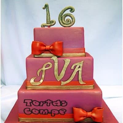 Torta para Quinceañera - Cod:WQC12