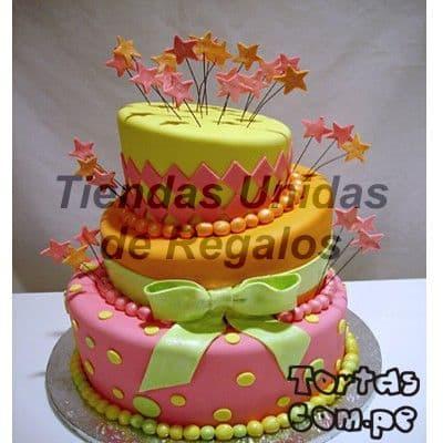 Pastel para Quincea�ero - Cod:WQC14