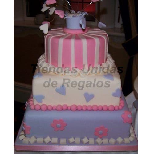 Torta Quinceañero grande | Torta de 15 | Tortas de quinceañeras - Cod:WQC18