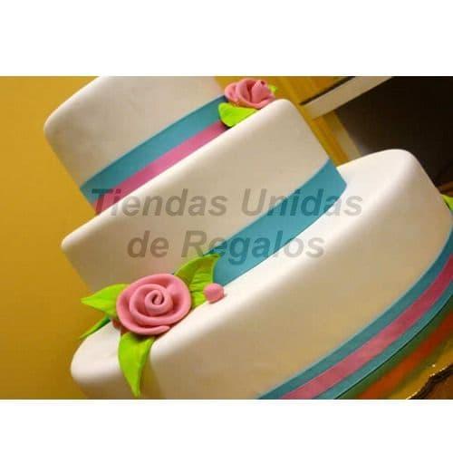 Torta Quinceañero 3 pisos - Cod:WQC20