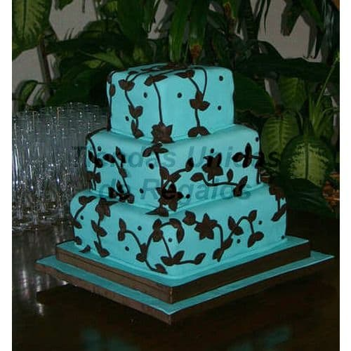 Torta Quinceañero 21 | Torta de 15 | Tortas de quinceañeras - Cod:WQC21