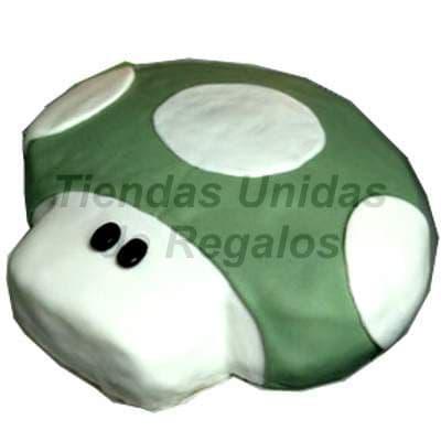 Grameco.com - Torta Honguito - Codigo:TRR14 - Detalles: Delicioso queque De Vainilla relleno fruta confitada, el decorado es a base de masa el�stica. La torta tiene el modelo de honguito, . Medidas: 20cm de diametro. - - Para mayores informes llamenos al Telf: 225-5120 o 476-0753.