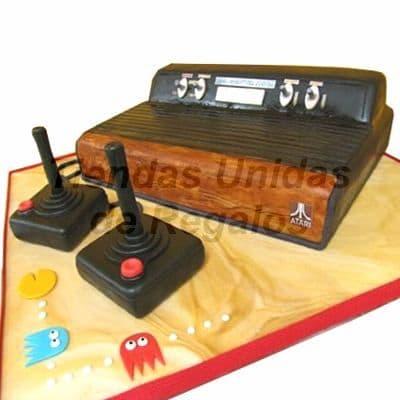 Torta Atari 80s | Atari 2600 Game Console Birthday Cake - Cod:TRR12