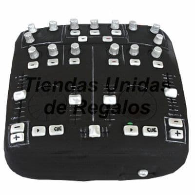Torta Mezcladora de DJ | Torta Consola, | Torta de DJ | Torta DJ | mixer Cake - Cod:TRR16