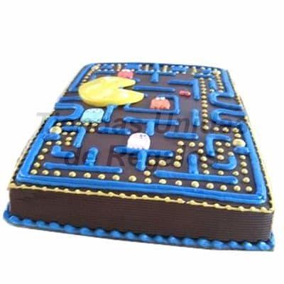 Torta Pacman | Torta Tematica de Pacman | Pacman Cake - Whatsapp: 980-660044