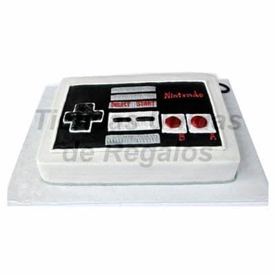 Torta Nintendo | Torta diseño Nintendo switch para los gamers | Pastel Nintendo - Whatsapp: 980-660044