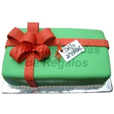 Torta Cajita de Regalo - Cod:TRR25
