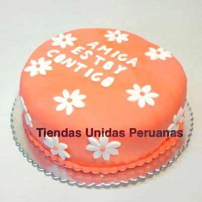 Torta Flores | Torta Tematica Flores - Cod:TRR27