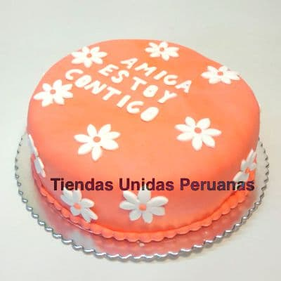 Torta Flores - Whatsapp: 980-660044