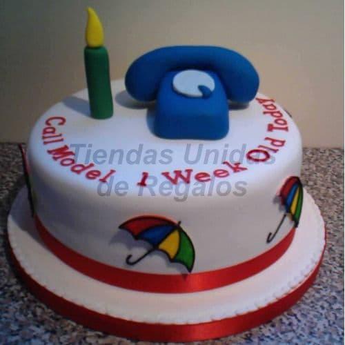 Torta Telefonito | Torta de Telefono - Cod:TRR30