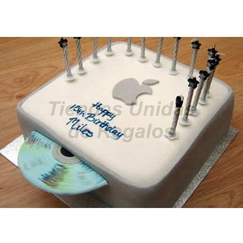 Torta Apple | Apple Inc Cake - Cod:TRR45