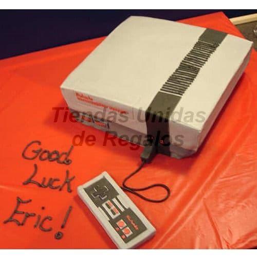 Torta Nintendo | Nintendo Cake  - Cod:TRR46