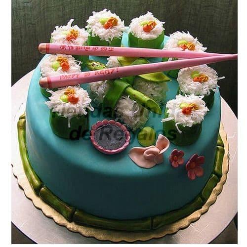 Torta Sushi - Cod:TRR47